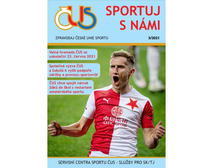 ZPRAVODAJ ČESKÉ UNIE SPORTU Č. 3/2021
