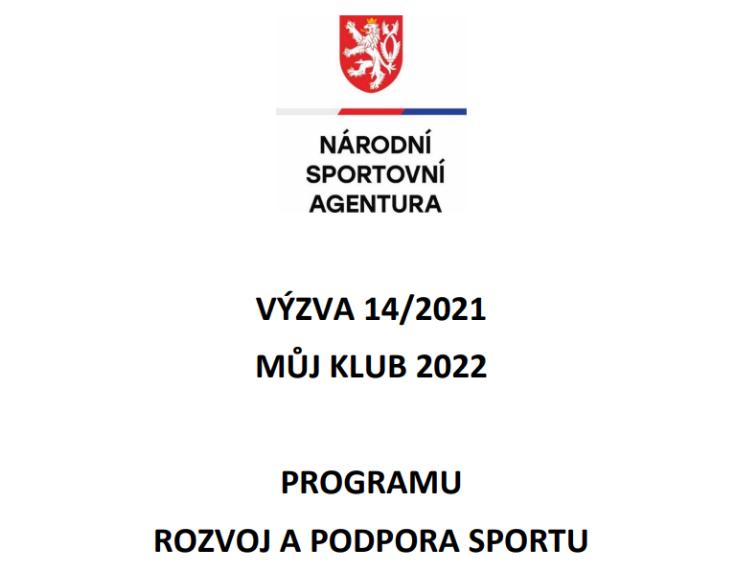 "NSA ZVEŘEJNILA VÝZVU ""MŮJ KLUB 2022"""